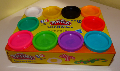 Playdoh case of colors