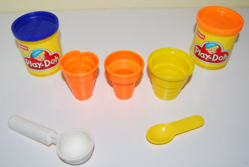 Playdoh ice cream