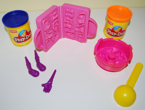 Playdoh candy mold
