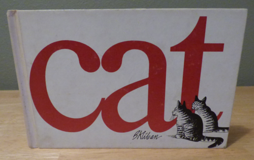Cat by kliban first edition cloth 1976