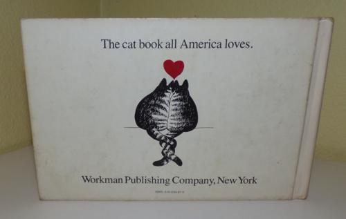Kliban cat book back