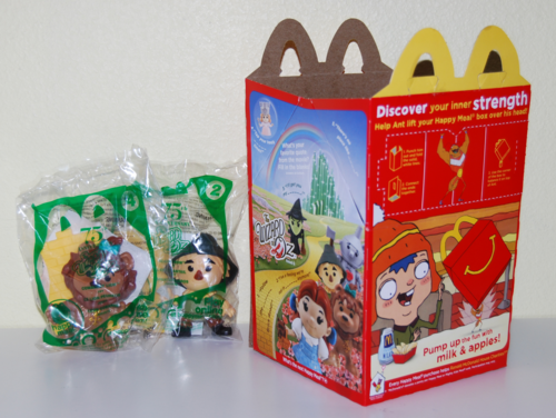 Oz anniversary kids meal