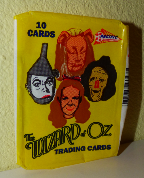 Wizard of oz trading cards