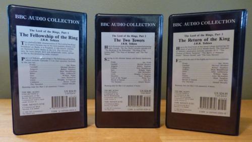 Lotr bbc audio collection x
