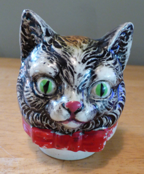Vintage kitty teapot 8