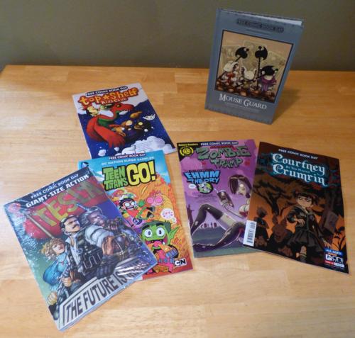 Free comic book day 2014 x