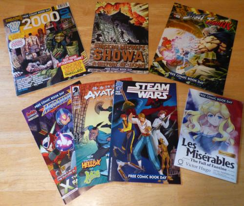 Free comic book day 2014 2