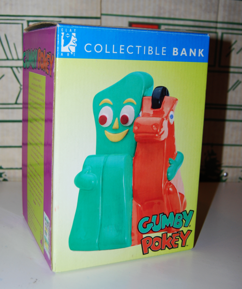 Gumby pokey bank 3