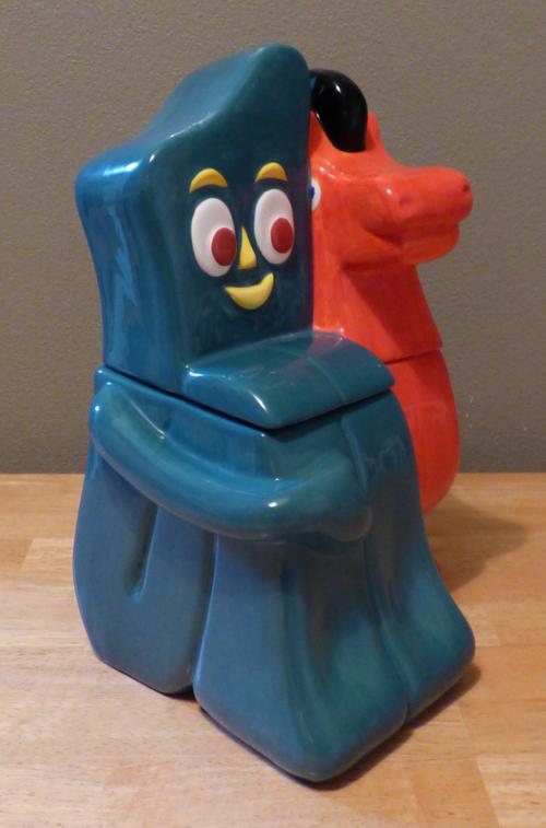 Gumby & pokey cookie jar 2