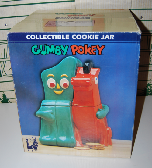 Gumby pokey cookie jar