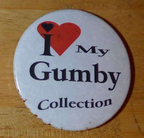 Gumby collection magnet