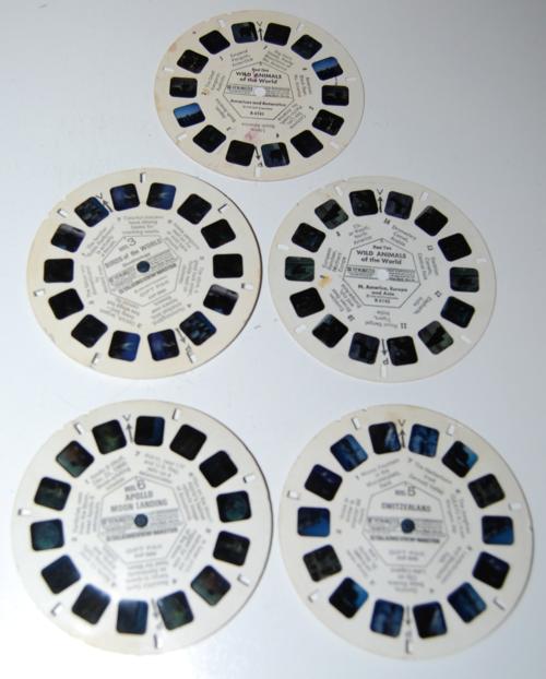 Vintage viewmaster reels 4