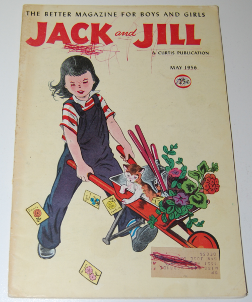 Jack & jill magazine may 1956