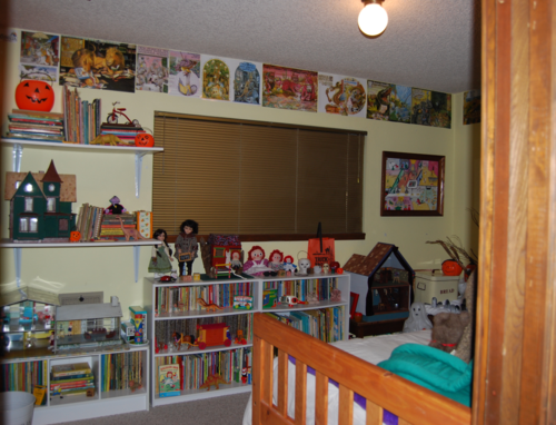 The toy room updated