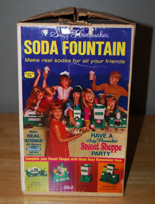 Suzy homemaker soda fountain box 1