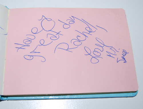 Vintage disney world autographs 6