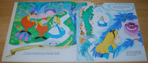 Alice in wonderland disney vinyl lp 4