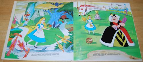 Alice in wonderland disney vinyl lp 6
