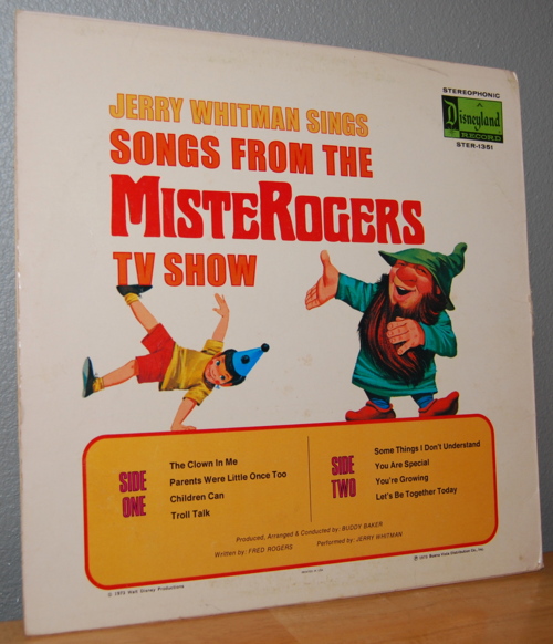 Songs from the mister rogers tv show vintage vinyl lp x