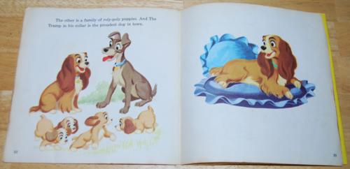 Disney book record lady tramp 4