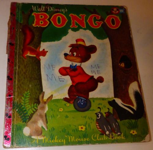 Bongo mickey mouse club book