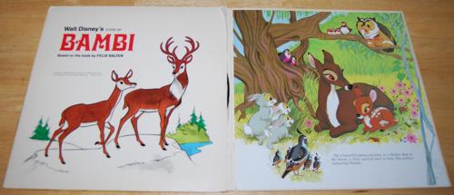 Disney bambi vinyl lp 1