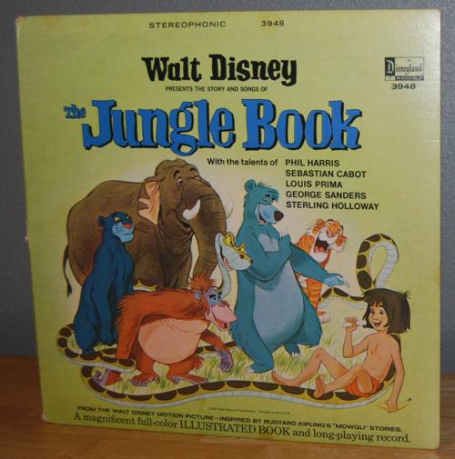 Disney bambi vinyl lp 2