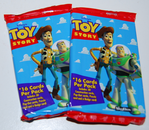 Toy story skybox trading cards 3