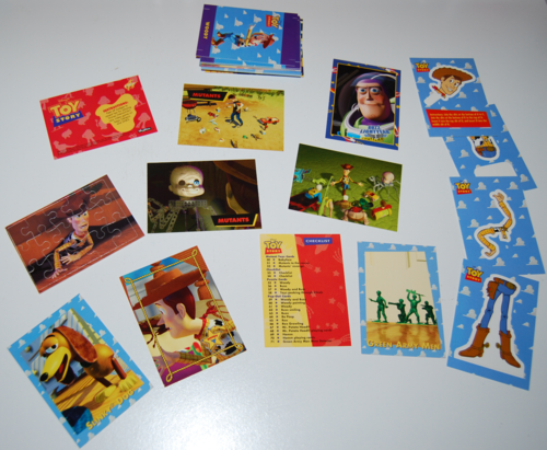 Toy story skybox trading cards 7