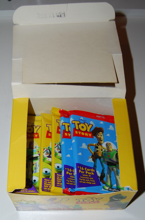 Toy story skybox trading cards 1