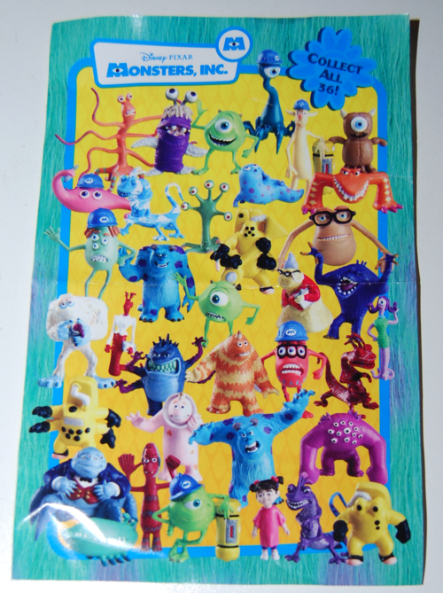 Monsters inc fright pack 5