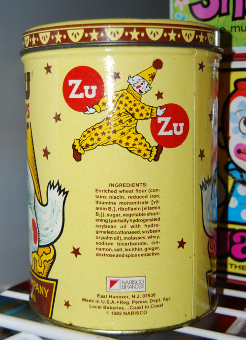 Zuzu ginger snaps tin x
