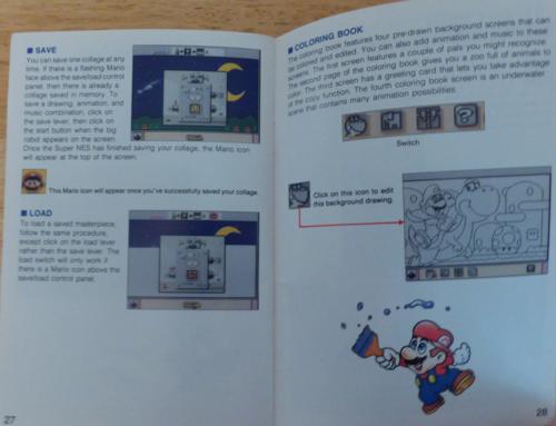 Mario paint snes 8