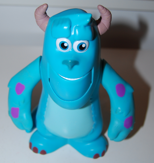 Monsters inc sulley toy x