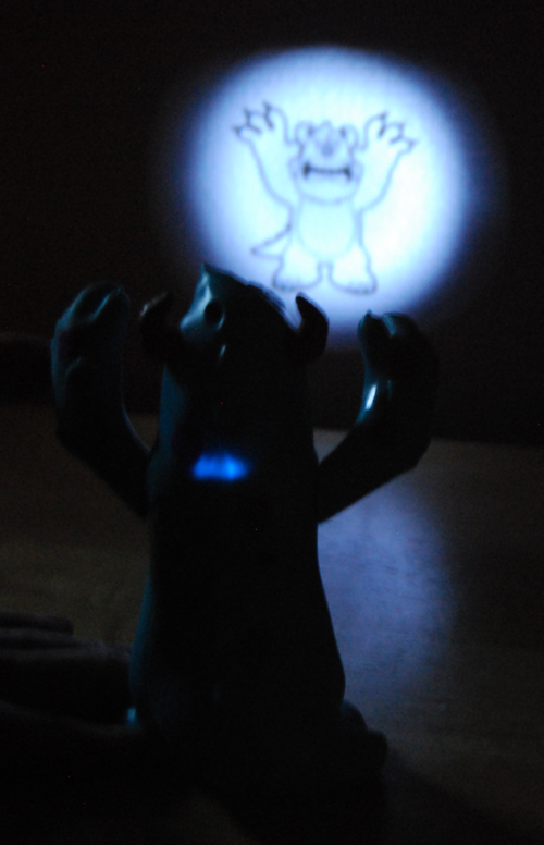 Monsters inc sulley projector toy xx
