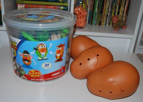 Toy story potato head bucket