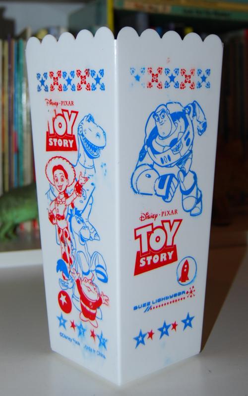 Toy story popcorn holder x