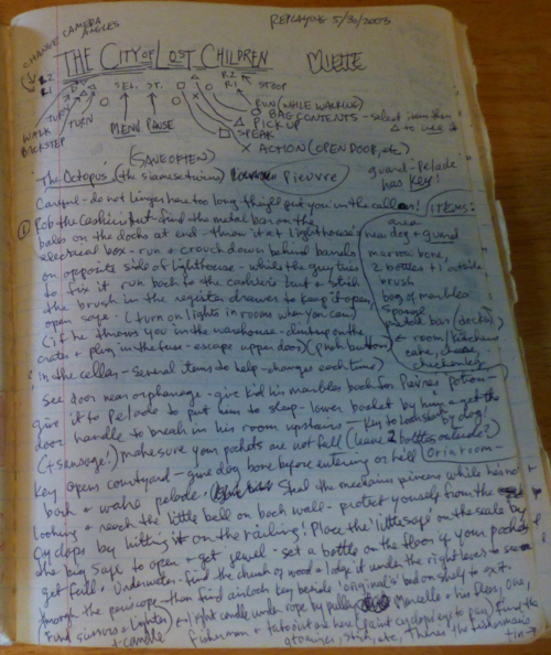 Cat's game journal the city of lost children