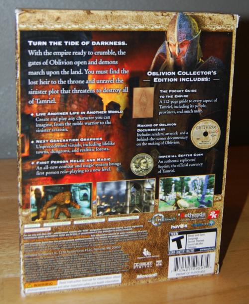 Oblivion xbox 360 4