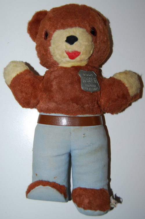 Vintage smokey ranger bear toy 6