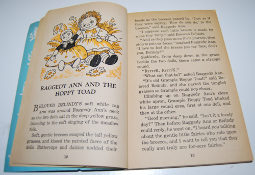 Vintage raggedy ann stories wonder book 5