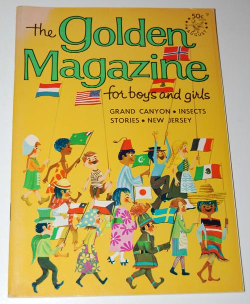 Golden magazine august 1967