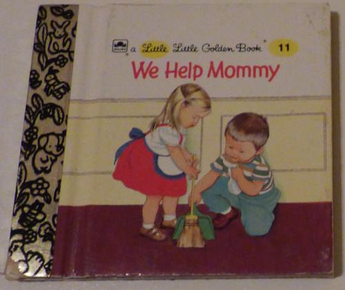 Little little golden book we help mommy