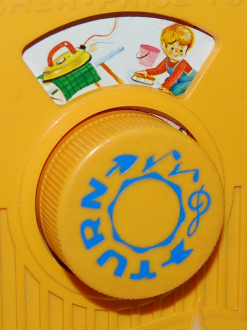 Fisher price pocket radio mullberry bush 8