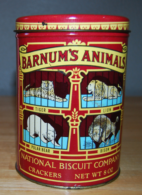Barnum's animal cracker tin 3