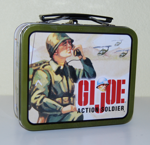 Gi joe tin lunchbox