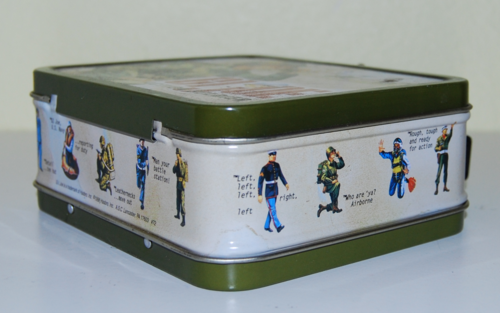 Gi joe tin lunchbox 1