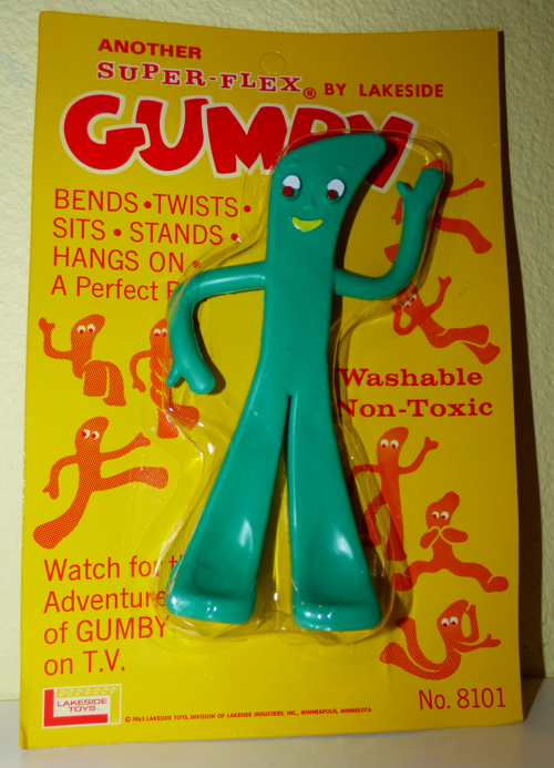 Gumby lakeside bendy nos