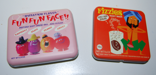 Fizzies tins