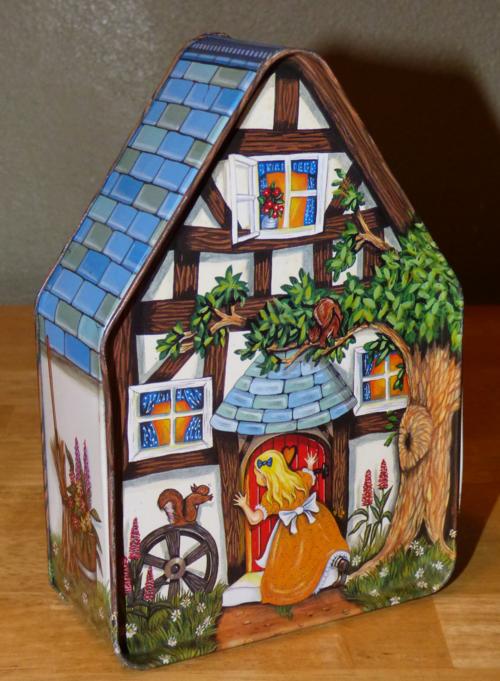 Fairy tale tin
